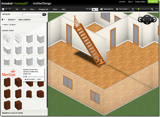 Cad clues the new autodesk homestyler for Autodesk homestyler online